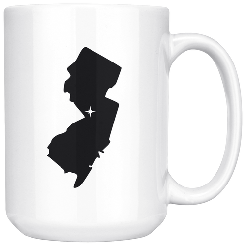 New Jersey Coffee Mug - NJ - MissionMint