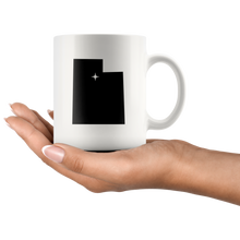 Load image into Gallery viewer, Utah Coffee Mug - White 11oz - UT - MissionMint