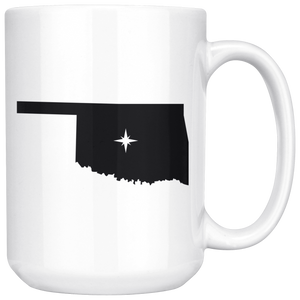 Oklahoma OK Coffee Mug 15 oz
