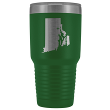 Load image into Gallery viewer, Rhode Island Tumbler Travel Map Adoption Moving Gift - 30oz - MissionMint