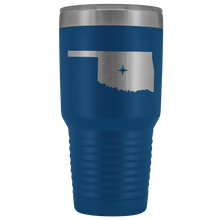 Load image into Gallery viewer, Oklahoma Tumbler Travel Map Adoption Moving Gift - 30oz - MissionMint