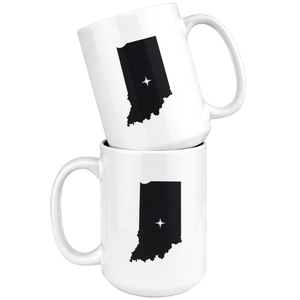 Indiana Coffee Mug - IN - MissionMint
