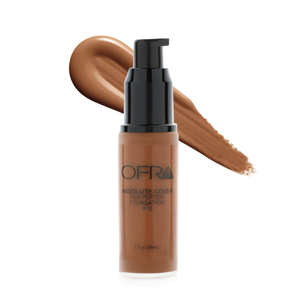 Absolute Cover Silk Peptide Foundation #10