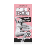 Amber and Jasmine Organic Shower Gel