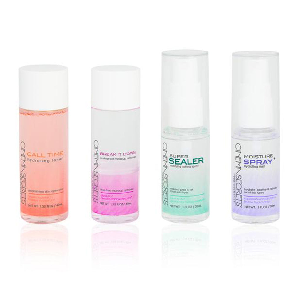 Mini Travel Set: Mist, Spray, Toner, Remover