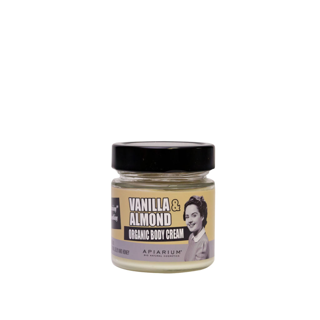 Vanilla and Almond Organic Body Cream