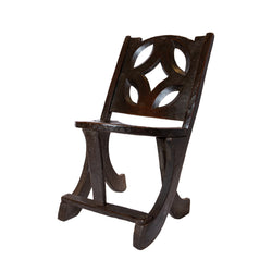 Ethiopian Carved Chair