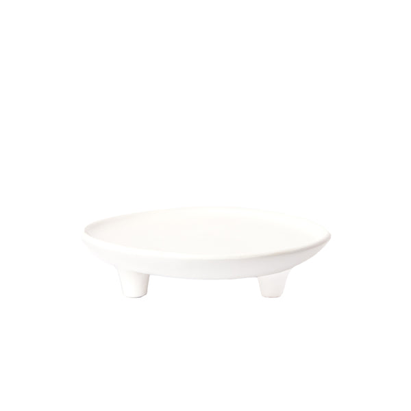 White Tripod Bowl