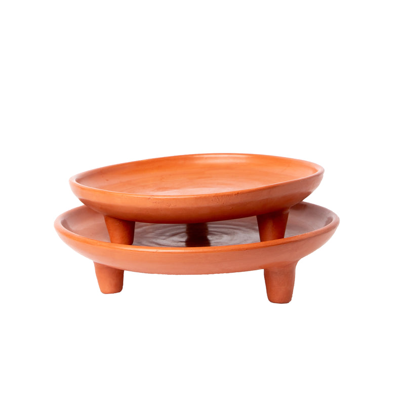 Terracotta Tripod Bowl