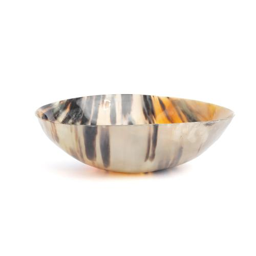 Cow Horn Decorative Bowl