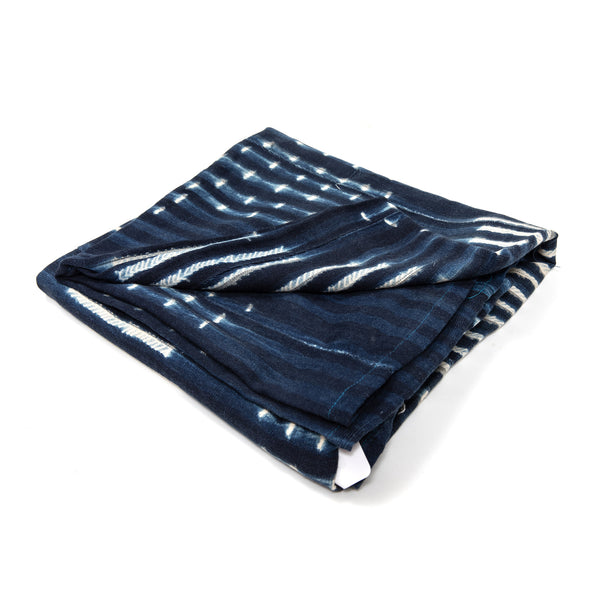 Indigo Blue Balu Throw