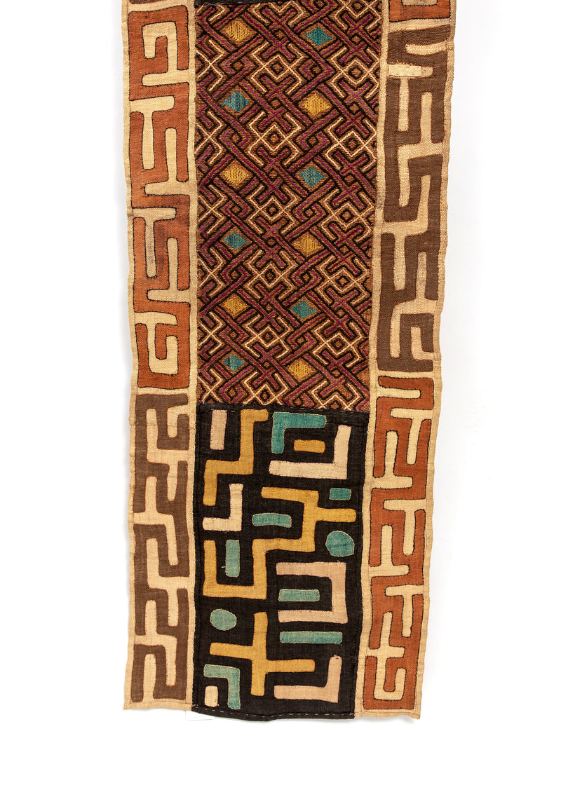 Colorful Kuba Cloth