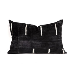 Dash Velvet/Silk Lumbar Pillow