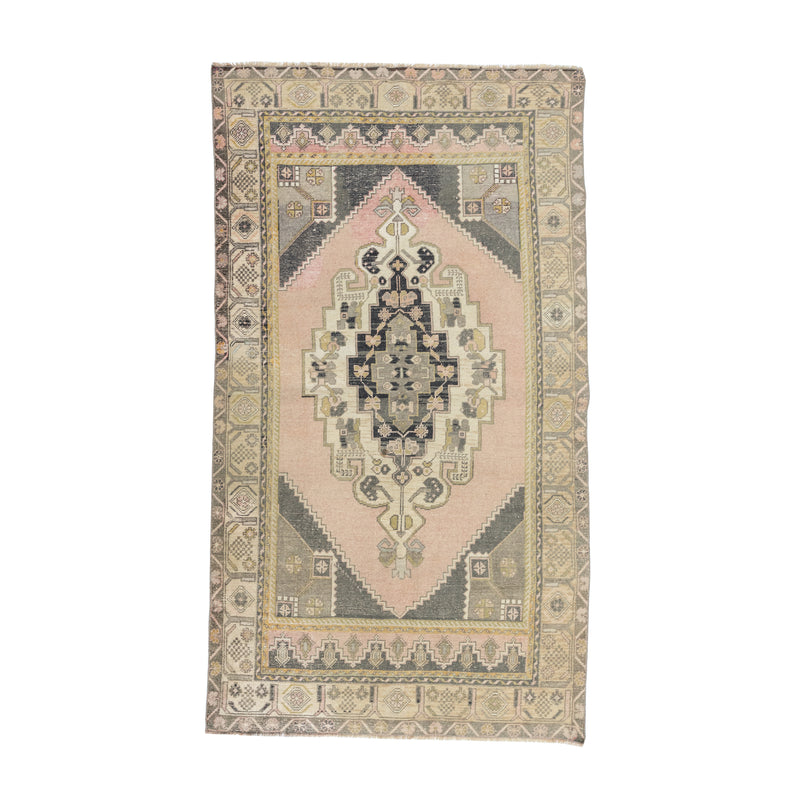 "4'5"" x 7'9"" Vintage Mauve Dream Area Rug"