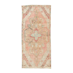 "3'11"" x 8'6"" Cotton Candy Vintage Area Rug"