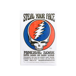 Steal Your Face Grateful Dead Mineral Soak/Scrub