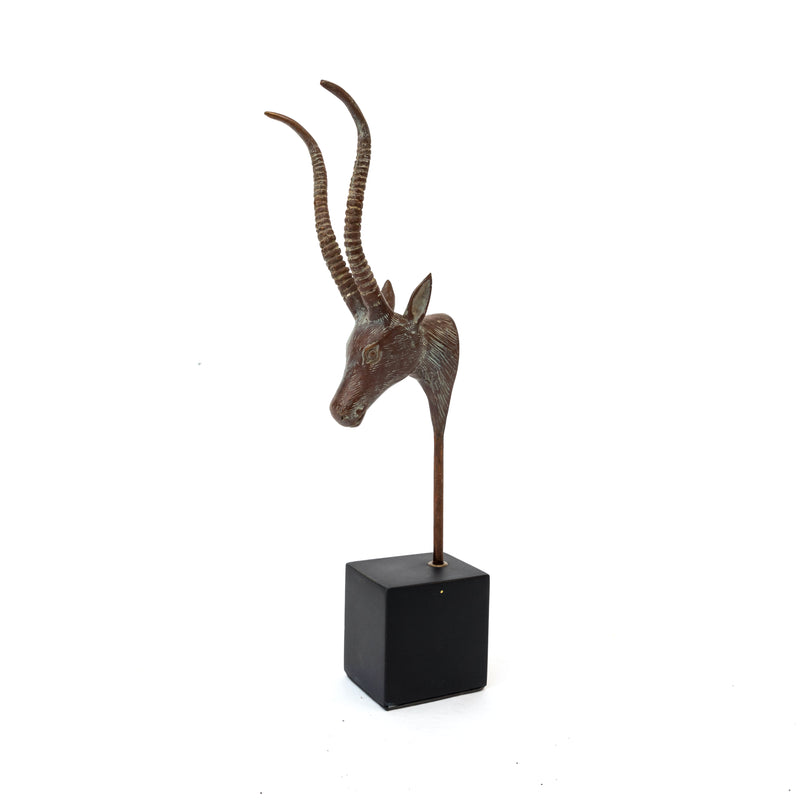 Antelope Head On Stand