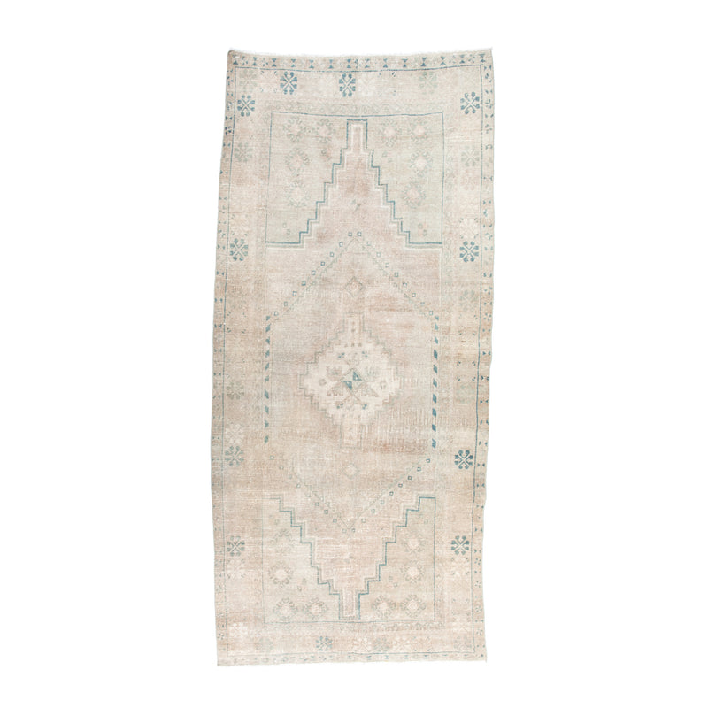 "4'9.5"" x 10'9.5"" Washed Mangrove Vintage Area Rug"