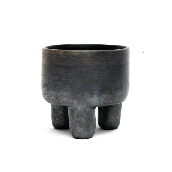 Black Mitla Bowl - 3 Leg
