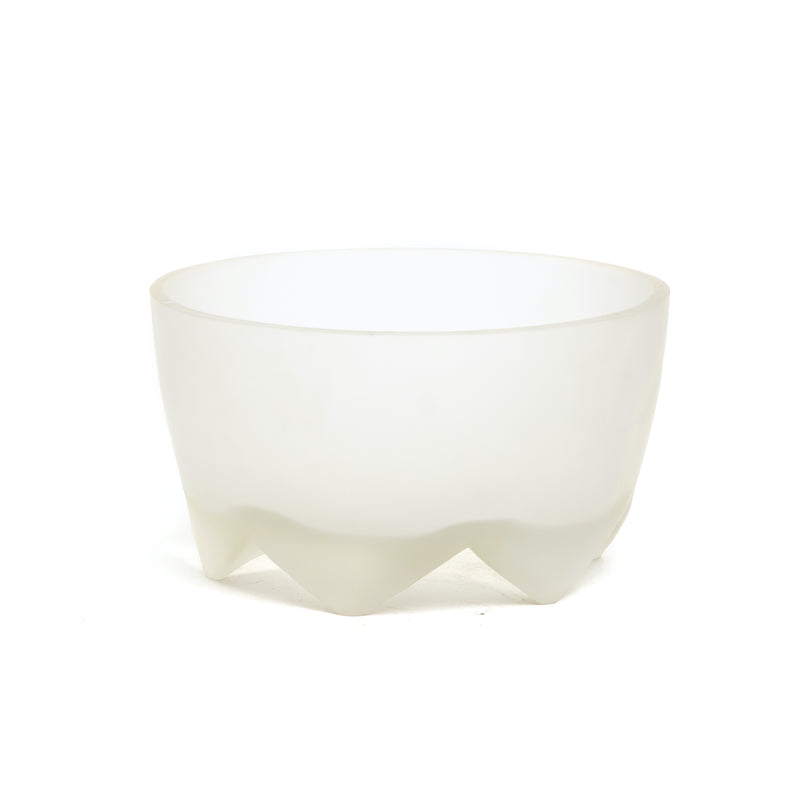 Clear Large Footed Bowl