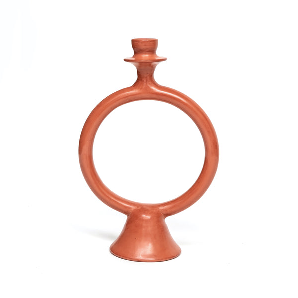 Terracotta Ring Candle Holder