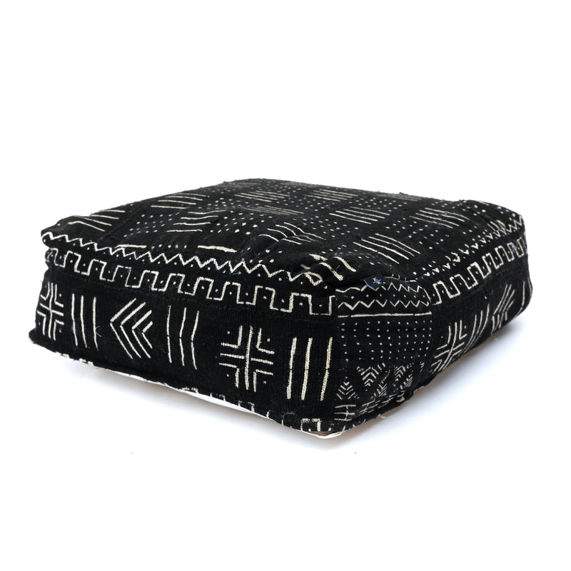 Mud Cloth Pouf