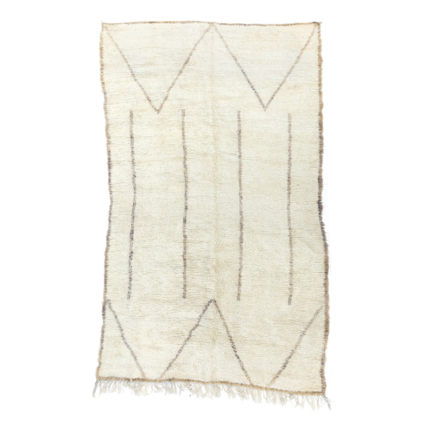 "6'9"" x 11'4"" Sandy Mountain Moroccan Area Rug"