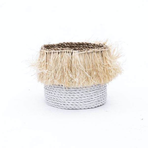 Fringe Rope Basket