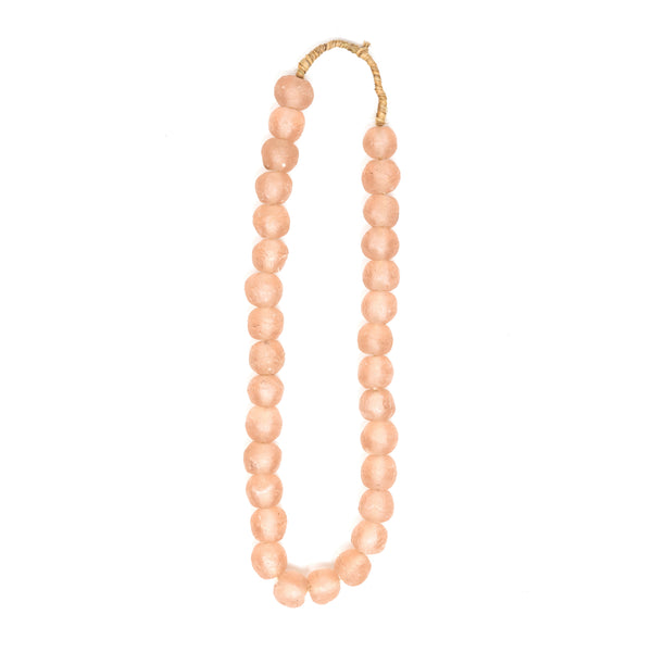 Medium Blush Recycled Styling Beads