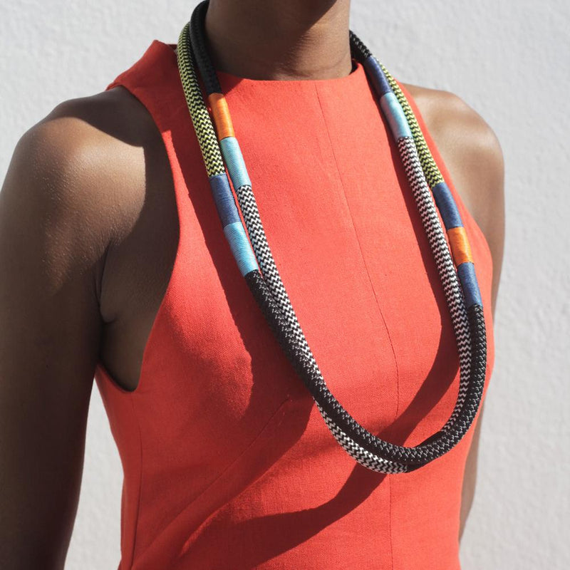 Dynamic Ndebele Necklace
