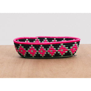 Pink Oval Basket I