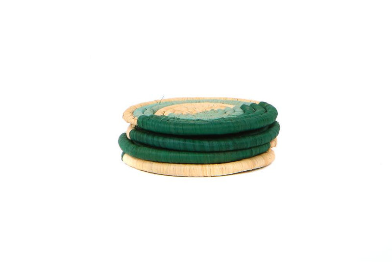 Green Colorway Coasters