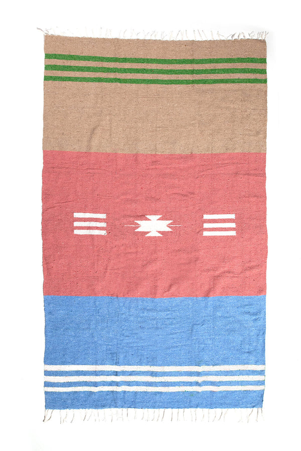 Springtime Horizon Travel Blanket