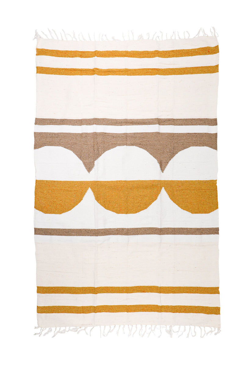 Golden Honey Travel Blanket