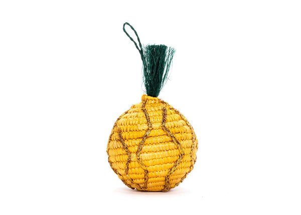 Woven Pineapple Ornament