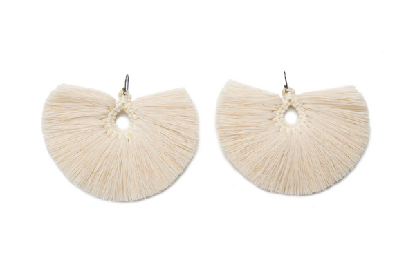 Natural Penacho Earrings