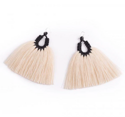 Black Gallo Earrings