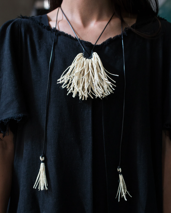 Natural Mantarraya Necklace