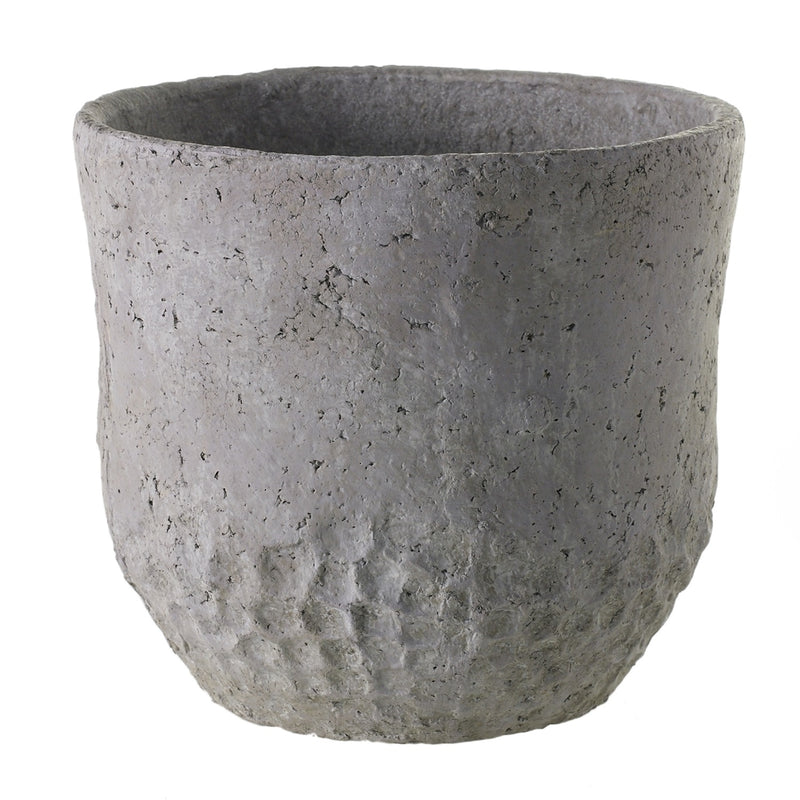 Grey Ceramic Outdoor Planter