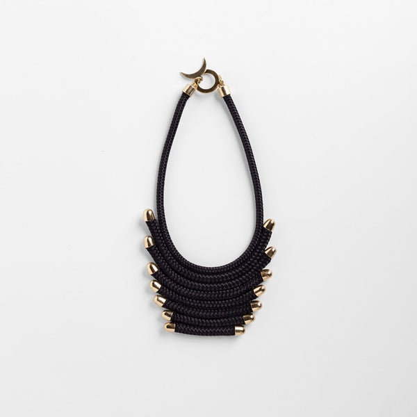 Black Tiered Necklace
