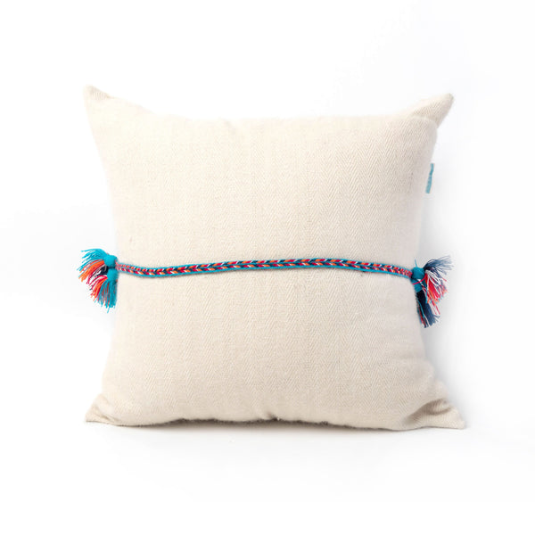 Treaded Square Pillow