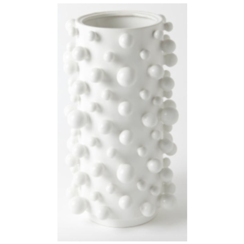 White Bubble Vase