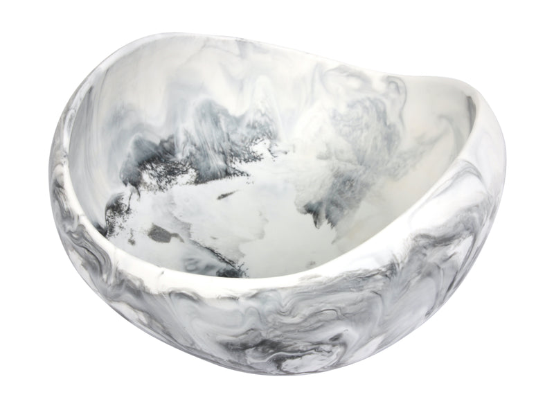 White Marble Resin Bowl
