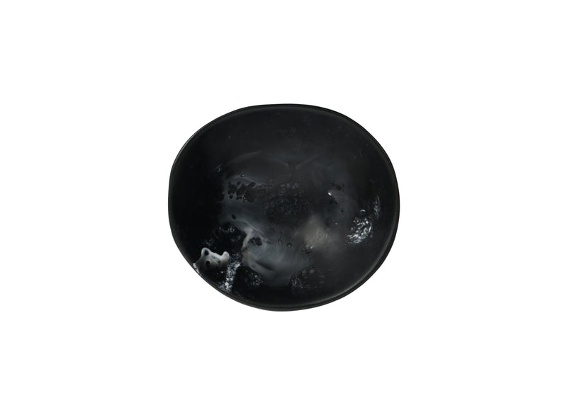Black Marble Flow Dish