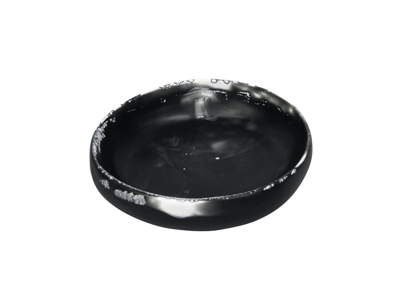 Black Marble Resin Earth Bowl