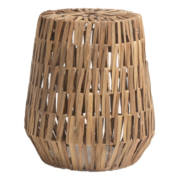 Natural Water Hyacinth Side Table