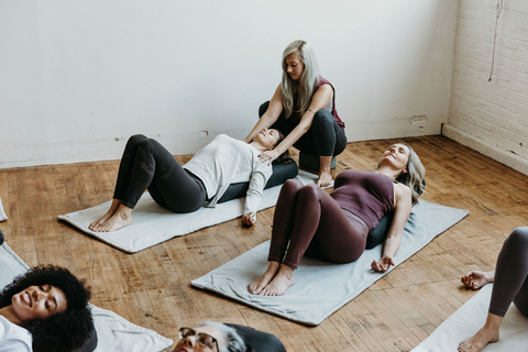 Yoga and massage therapy