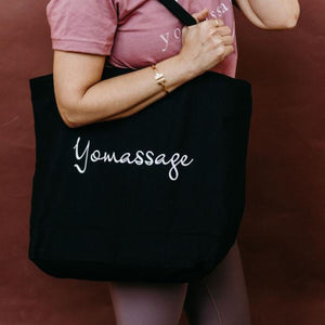 Yomassage Canvas Zippered Tote