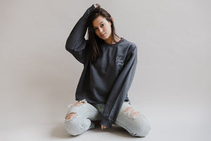The Perfect Sweater | Charcoal