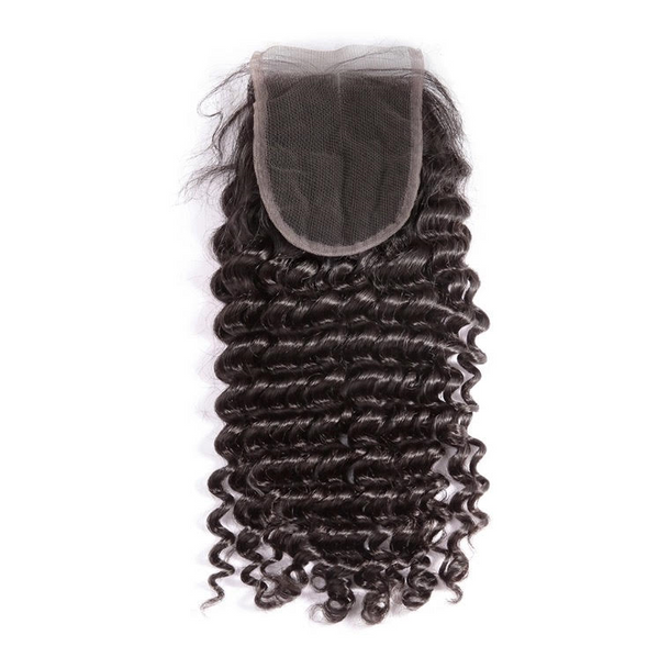 Mink Brazilian Deep Curly Closure